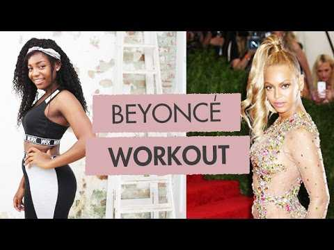BEYONCÉ Inspired TONED BUM + THIGHS Workout | Scola Dondo