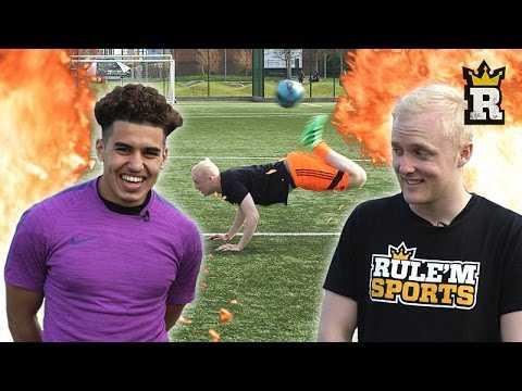 ULTIMATE FREESTYLE CHALLENGE - Theo Baker Vs Yasin Ben El-Mhanni | Rule'm Sports