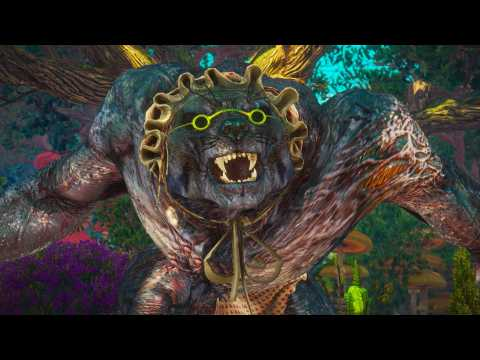 The Witcher 3 Blood and Wine: The Big Bad Wolf Boss Fight (4K 60fps)