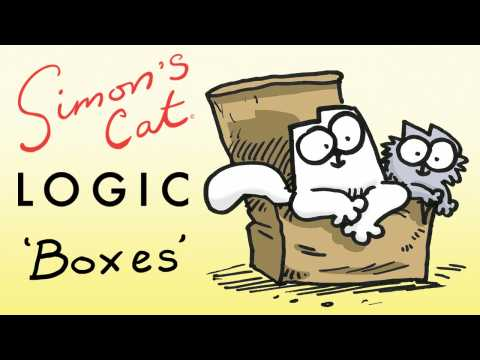 Simon's Cat Logic - Why Do Cats Love Boxes?!