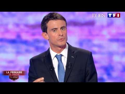Primaire de gauche : Manuel Valls, seul à défendre la loi Travail