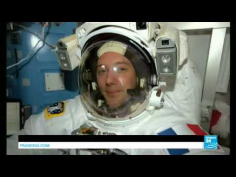 Space: French astronaut Thomas Pesquet to complete his first ever spacewalk