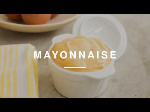 Kitchen Essentials - How To Make Mayonnaise | Wild Dish