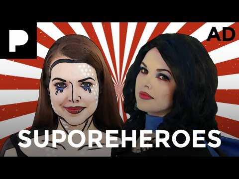 Superhero Makeup w Cherry Wallis AD | POREfessional with Benefit Cosmetics