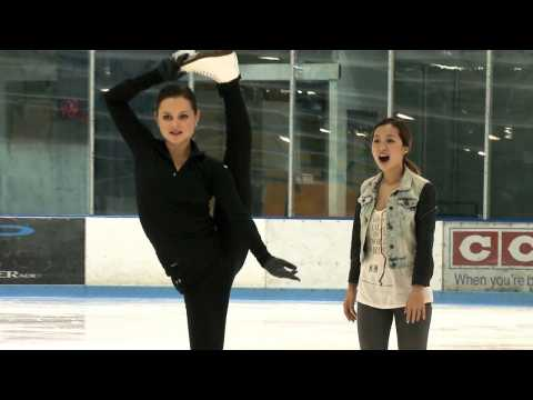 Ice Skating with Sasha Cohen