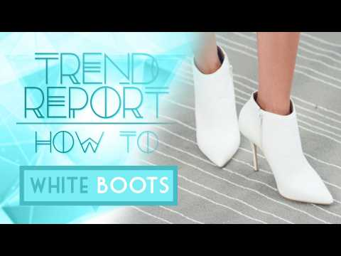 Trend Report: How To Style White Boots Ft. Grasie Mercedes