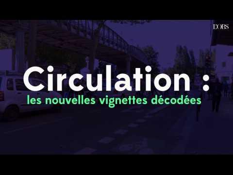 Circulation : les nouvelles vignettes décodées