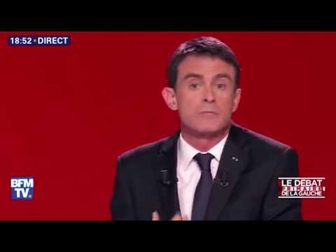 Valls pris pour cible dans le 2e débat de la primaire de gauche