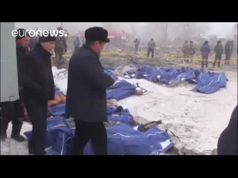 Kyrgyzstan village devastated as dozens die in Turkish cargo plane crash