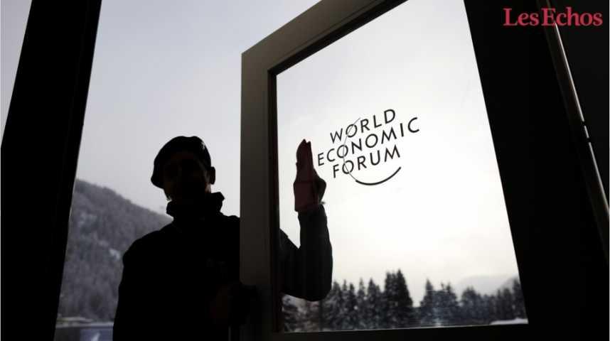 Illustration pour la vidéo Tout savoir sur Davos 2017