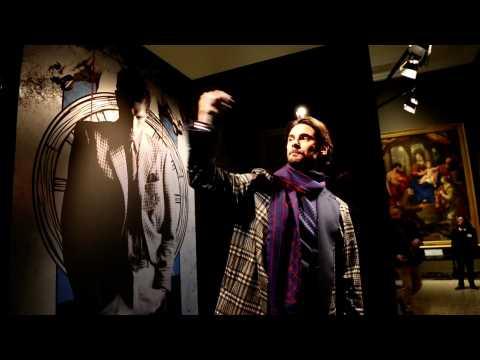 Trussardi - Menswear collection Autumn/Winter 2017/18 in Milan (with interview)