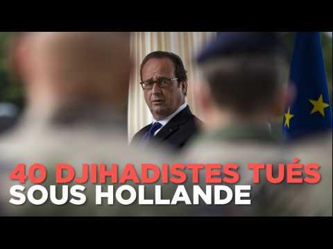 Une quarantaine de djihadistes ciblés et exécutés sur ordre de Hollande