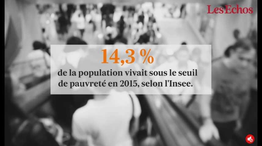 Illustration pour la vidéo La pauvreté en légère hausse en France... Qu'est-ce que cela signifie ?