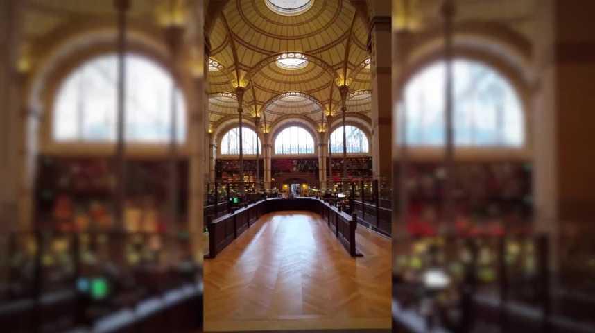 Illustration pour la vidéo La BNF Richelieu rouvre une partie de ses salles historiques