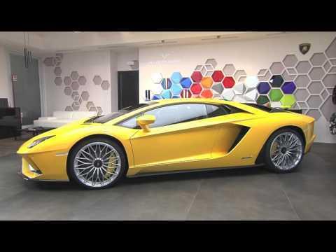 The Lamborghini Aventador S – Exterior Design | AutoMotoTV