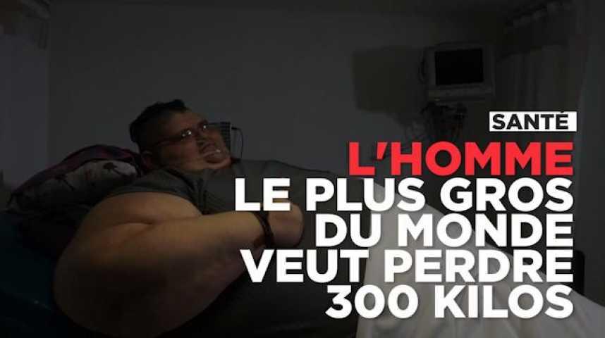 en 2017 l 39 homme le plus gros du monde tentera de perdre 300 kilos. Black Bedroom Furniture Sets. Home Design Ideas