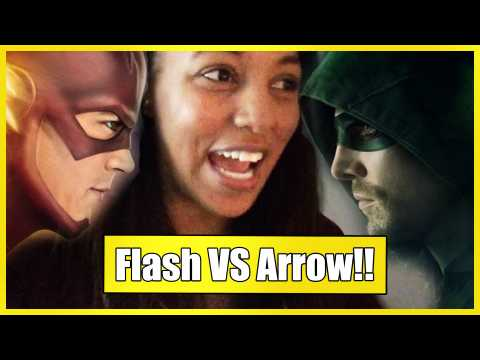 Flash vs Arrow | Couch Potato (TV Talk - VLOG)