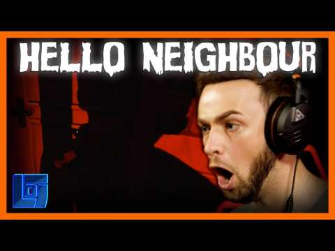 ALI-A PLAYS TERRIFYING GAME! Hello Neighbour Gameplay | Legends of Gaming
