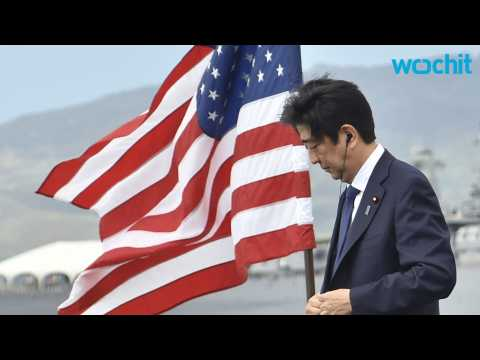 Japanese PM Offers Condolences For Lives Lost in Pearl Harbor Attack