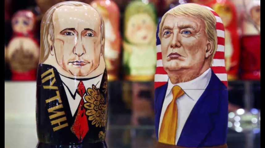 Illustration pour la vidéo La Russie nie avoir des dossiers compromettants sur Trump