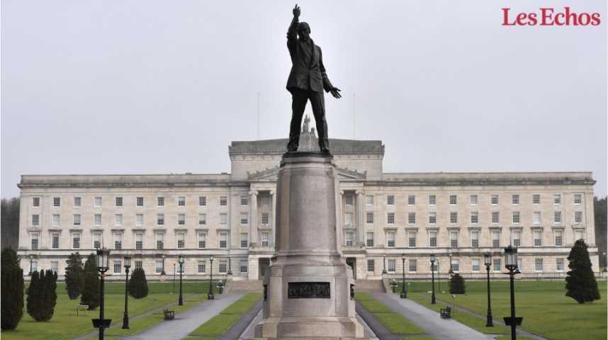 Illustration pour la vidéo Brexit: la crise politique en Irlande du Nord complique encore la donne
