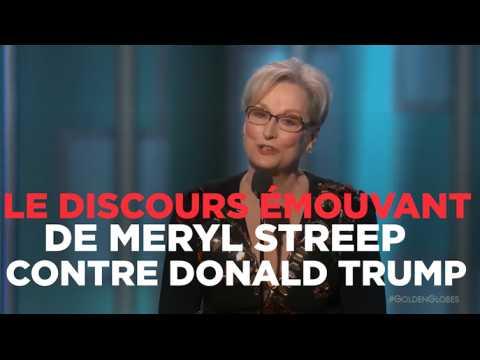 Le discours émouvant de Meryl Streep contre Donald Trump