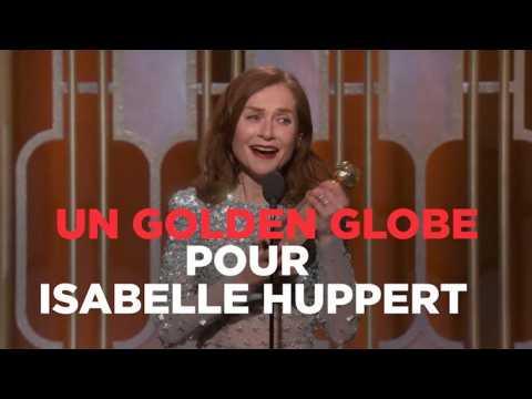 Isabelle Huppert, Golden Globe de la meilleure actrice dramatique