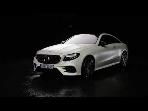 The new Mercedes-Benz E-Class Coupe Edition 1 - Exterior Design in Studio Trailer   AutoMotoTV