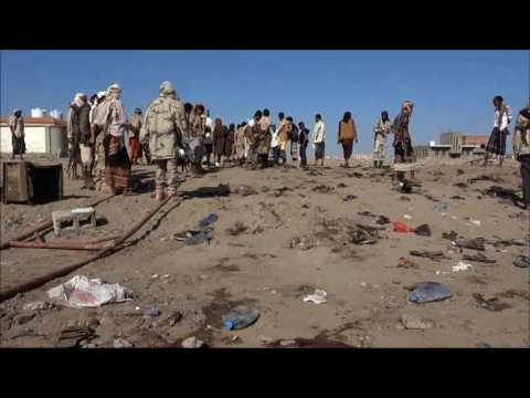 Scores of Yemeni soldiers killed in IS-claimed bombing