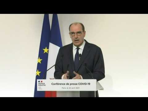 French Prime minister says shops could reopen 'mid-May' depending on Covid-19 outbreak