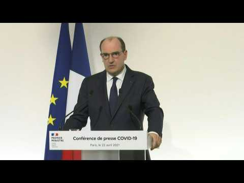 Peak of Covid-19 third wave in France 'appears to be behind us': PM