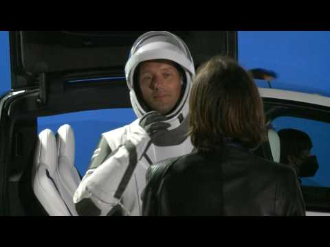 SpaceX: French astronaut Thomas Pesquet bids farewell to his partner