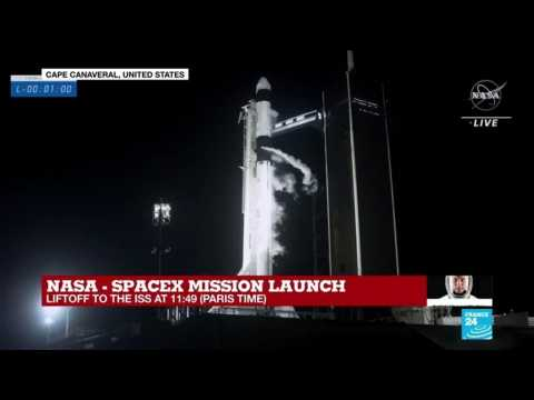 'And liftoff': NASA-SpaceX mission blasts into space, and history