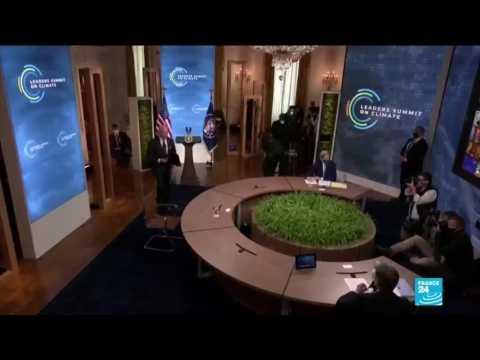 Climate summit: Biden pledges to slash 2030 target for greenhouse gas emissions