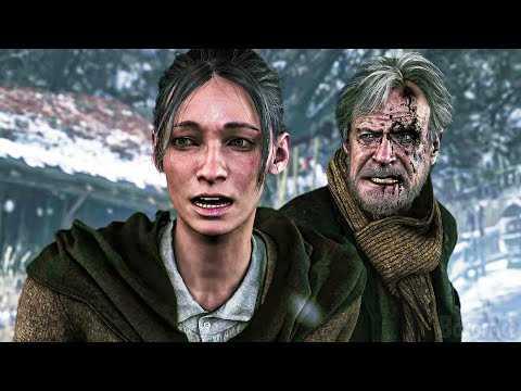 RESIDENT EVIL VILLAGE Castle Demo Trailer 4K (PS5)
