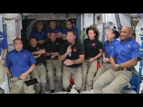Thomas Pesquet: 'It's really unbelievable to be here on the Space Station'