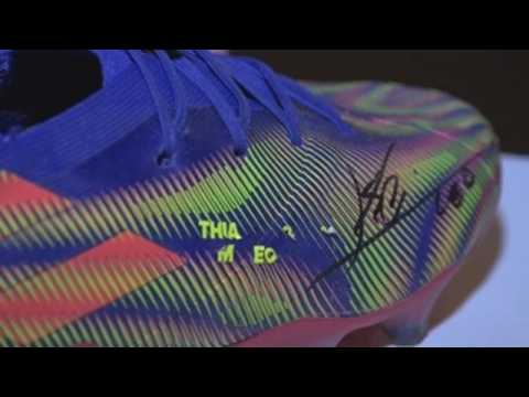 Messi's boots that beat Pelé to be auctioned in London for a good cause