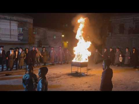 Ultra-Orthodox Jews celebrate the holy day of Lag Ba'Omer in Jerusalem