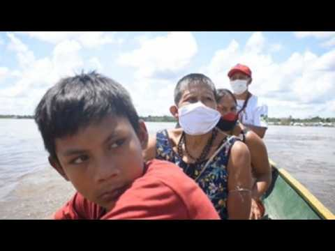 Twelve days in the river for a vaccine: the journey of the indigenous Matis through the Amazon