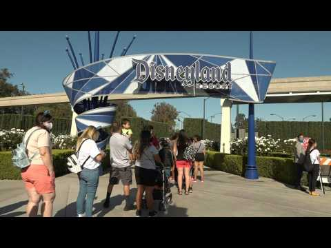 Disneyland reopens after a year-long COVID-19 closure