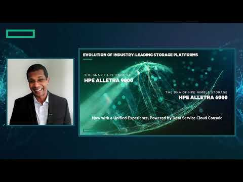 HPE Alletra - Power your data from Edge to Cloud - Meet the Experts session