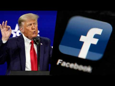 Donald Trump's accounts on Facebook and Instagram remain suspended