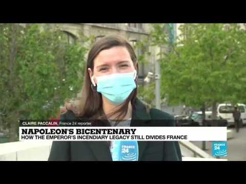 Macron negotiates politically charged Napoleon commemoration