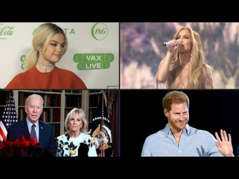 Bidens, Harry and Jennifer Lopez featured at 'Vax Live' concert