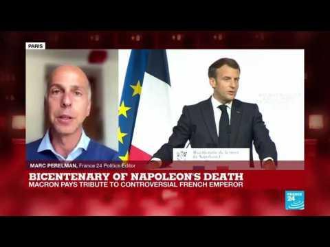 Bicentenary of Napoleon's death: Macron walks tightrope with Bonaparte commemoration