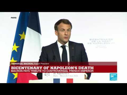 REPLAY - Bicentenary of Napoleon's death: Macron pays tribute to controversial French emperor
