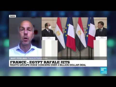 Egypt buys 30 Rafale fighter jets from France, rights groups voice concern