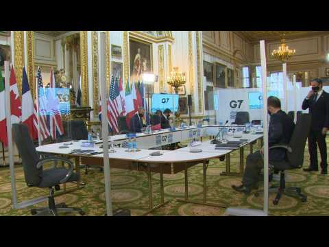 First in-person G7 Foreign ministers' meeting since pandemic began