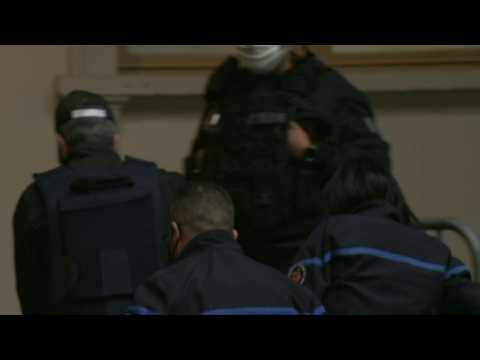 Accused arrives in court for verdict in French murder trial