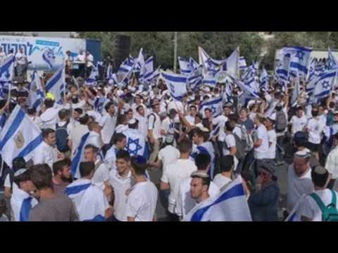 Israel changes route of Jerusalem Day march at the last minute